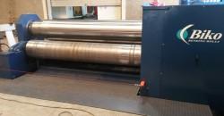 Launching a new four cylindrical bending machine BIKO B4-3163